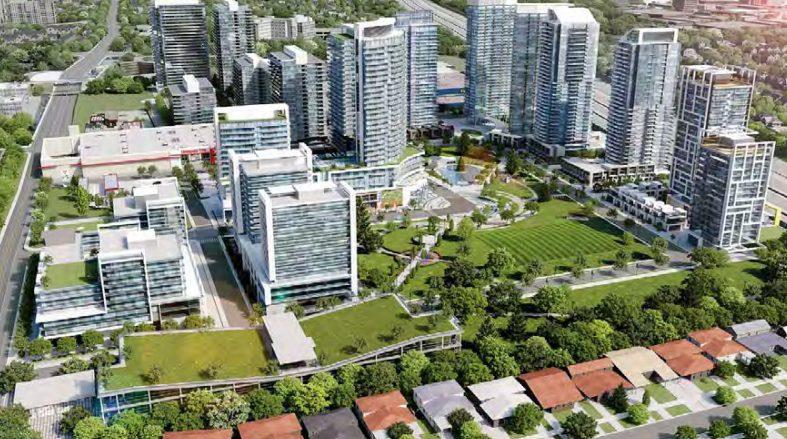 Seasons Condominiums and Villas at McMahon Drive, Toronto, Ontario. Image 10
