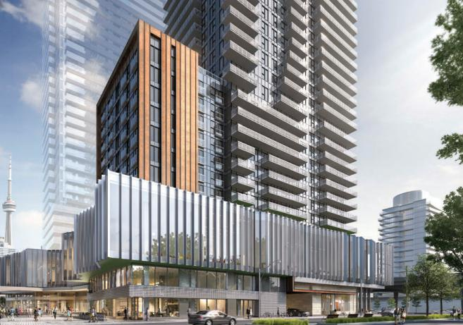 Daniels Waterfront- East Tower at 132 Queens Quay East, Toronto, Ontario. Image 2