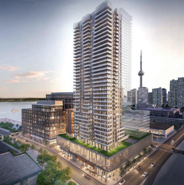 Daniels Waterfront- East Tower at 132 Queens Quay East, Toronto, Ontario. Image 4