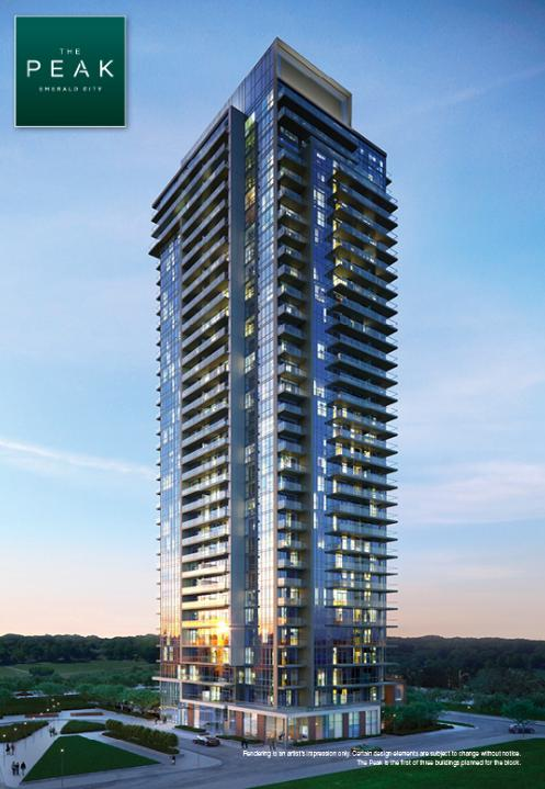 The Peak at Emerald City at Sheppard Avenue East and Don Mills Road, Toronto, Ontario. Image 3