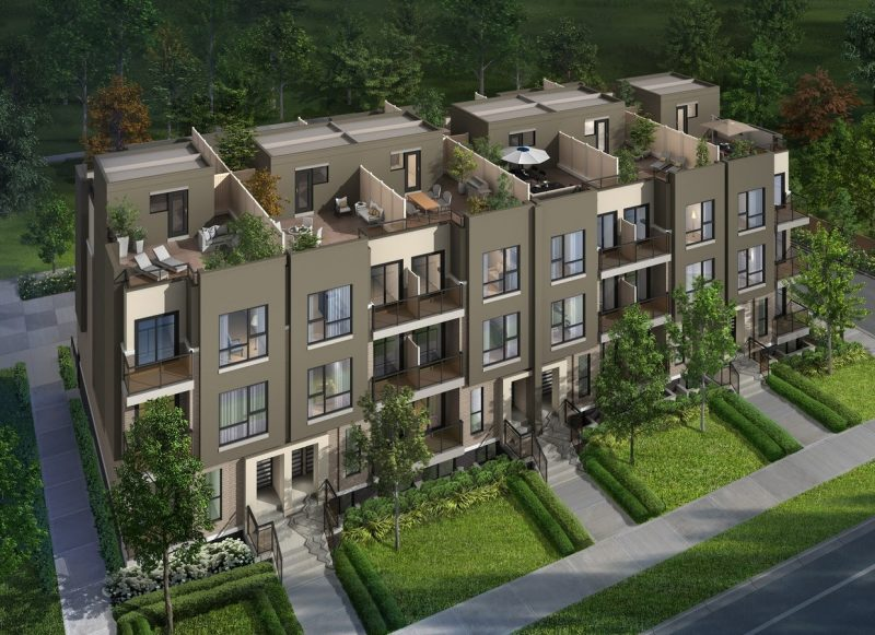 Towns at Rouge Valley at 8833 Sheppard Avenue East, Toronto, Ontario. Image 1