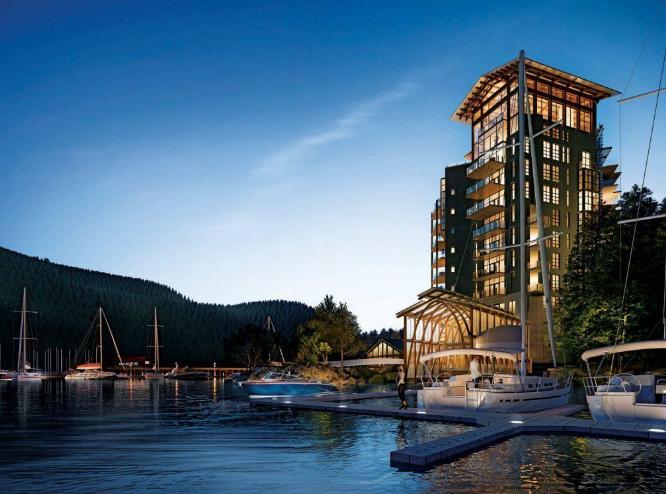 Horseshoe Bay at Bay Street and Royal Avenue, West Vancouver, British Columbia. Image 2