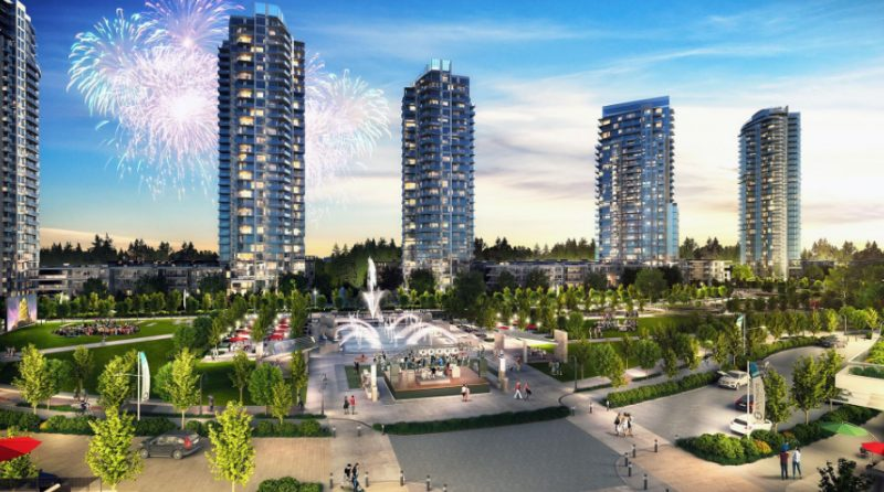 Southgate City at Griffiths Drive and 14th Avenue, Burnaby, British Columbia. Image 1