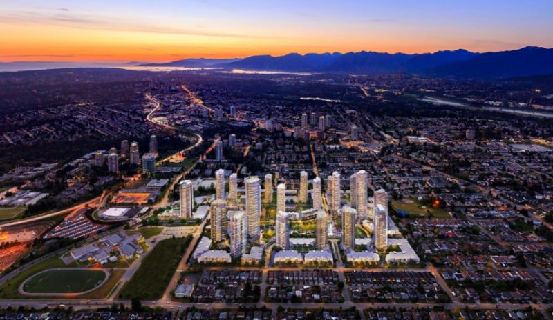 Southgate City at Griffiths Drive and 14th Avenue, Burnaby, British Columbia. Image 2