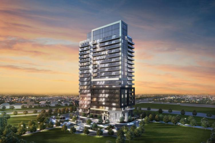 Yonge Parc at 150 High Tech Road, Richmond Hill, Ontario. Image 1