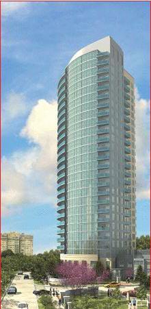 absolute Building A at Hurontario St & Burnhamthorpe Rd W, Mississauga, Ontario. Image 1
