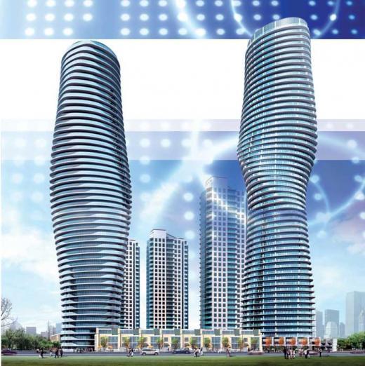 absolute Building A at Hurontario St & Burnhamthorpe Rd W, Mississauga, Ontario. Image 7