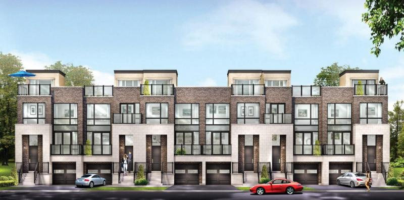 Modern Manors Phase 2 at Yonge Street and Jefferson Side Road, Richmond Hill, Ontario. Image 1