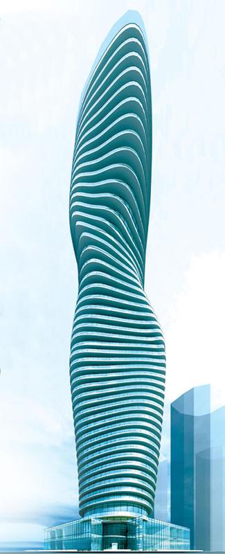 absolute Building D at Hurontario St & Burnhamthorpe Rd W, Mississauga, Ontario. Image 2