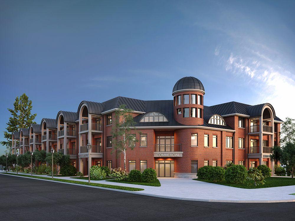 The Manse Condominiums at 2605 Binbrook Rd, Glanbrook, Ontario. Image 1