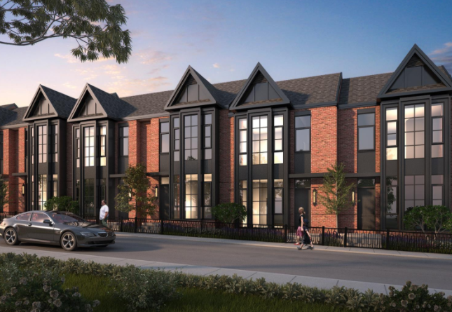King George School Lofts & Residences at 400 Park Ave, Newmarket, Ontario. Image 1