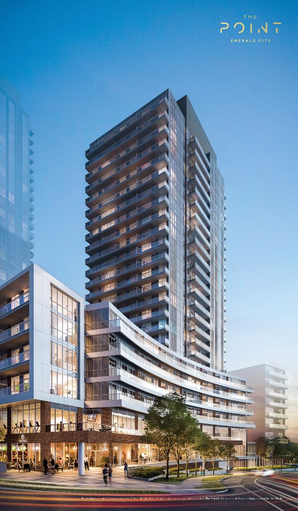 The Point at Emerald City at 01 Don Mills Rd, Toronto Central, Ontario. Image 3