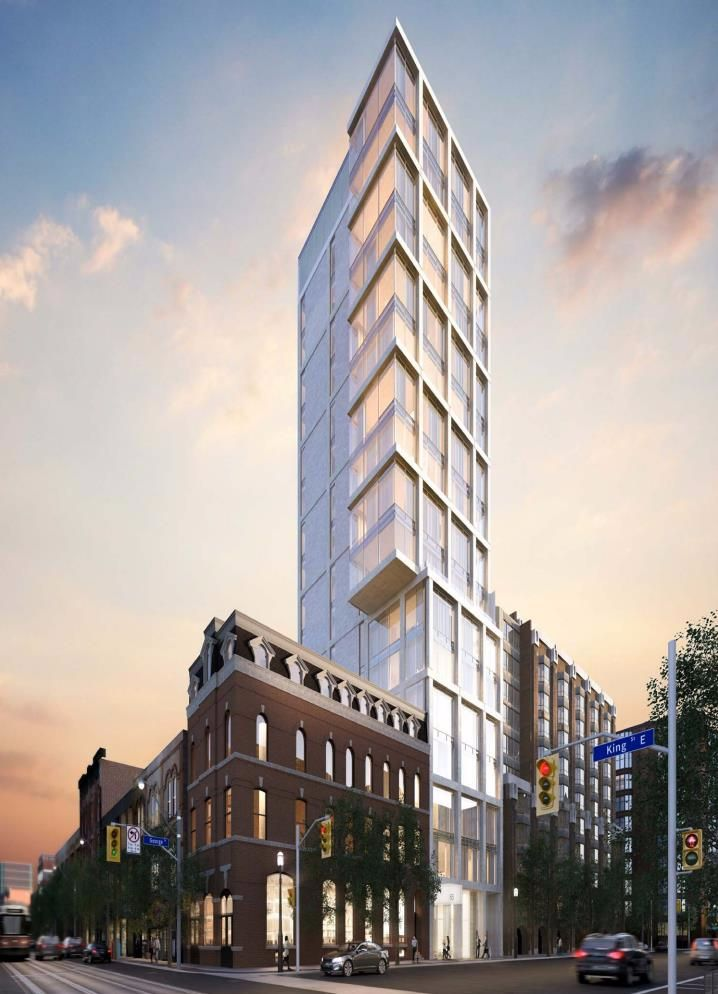 187 King Street East Condos at 187 King St E, Toronto Central, Ontario. Image 1