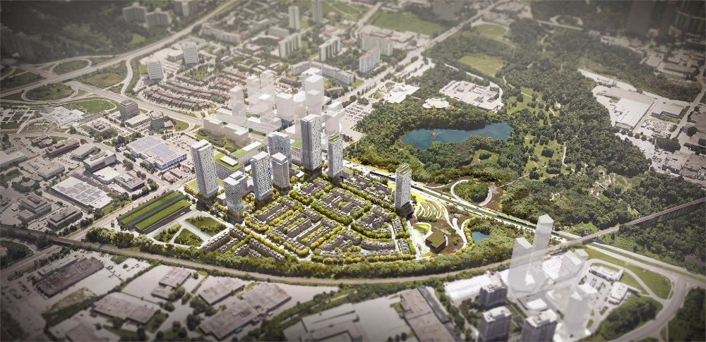 Wynford Green at 844 Don Mills Rd, Toronto Central, Ontario. Image 2