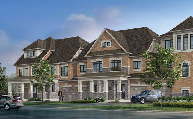 Forest Gate at Lionhead Luxury Towns at 7075 Financial Dr, Mississauga, Ontario. Image 1