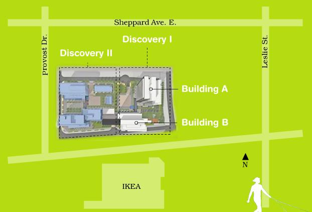 Discovery at Concord Park Place - Building A at Provost Drive and Sheppard Avenue East, Toronto, Ontario. Image 3