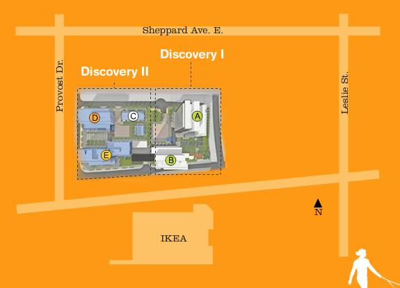 Discovery II - at Concord Park Place  - Building D at Provost Drive and Sheppard Avenue East, Toronto, Ontario. Image 5