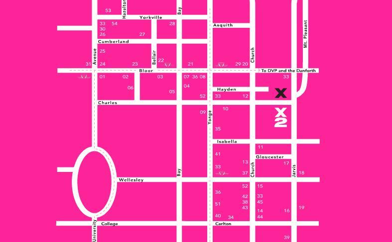 X2 The Condominium at 588 Jarvis Street, Toronto, Ontario. Image 3