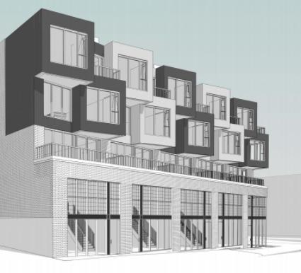 406 Keele Street Condos at 406 Keele St, Toronto West, Ontario. Image 1