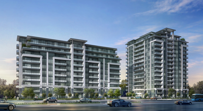 Valleymede Towers at Hwy 7, Richmond Hill, Ontario. Image 1