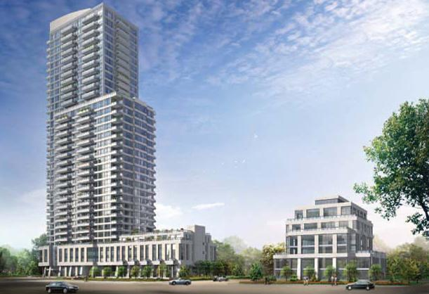 The 500 Condos + Lofts at 500 Sherbourne St, Toronto, Ontario. Image 1