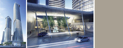 Ice Phase II - Condominiums at York Center at York St and Bremner Blvd, Toronto, Ontario. Image 3