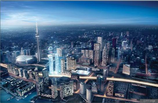 Ice Phase II - Condominiums at York Center at York St and Bremner Blvd, Toronto, Ontario. Image 4