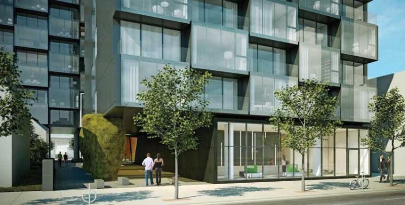 Thompson Residences at 629 King St West, Toronto, Ontario. Image 1