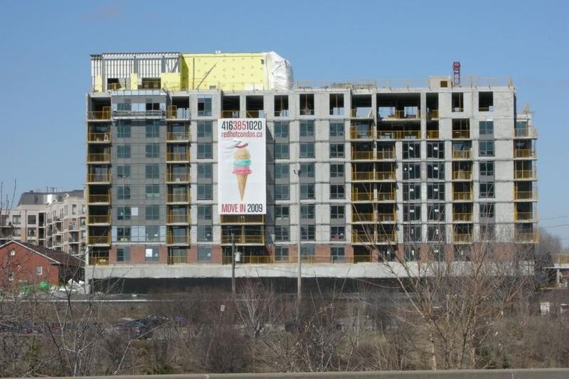 Red Hot Condos at Dallimore Circle, Toronto, Ontario. Image 2