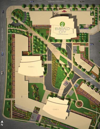 Emerald City Condos at 1801 Sheppard Avenue East, Toronto, Ontario. Image 4