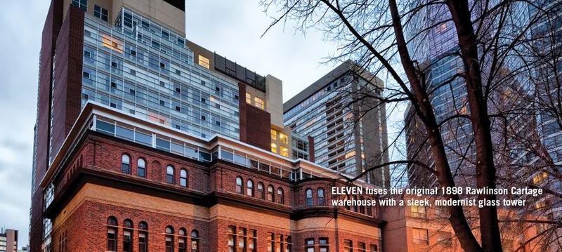 Eleven Residences at 11 St Joseph St, Toronto, Ontario. Image 2