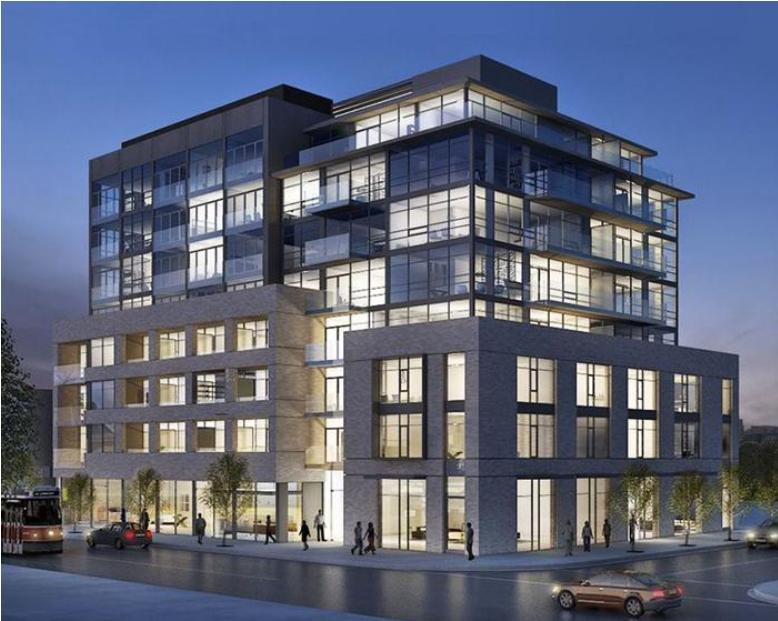 SYNC lofts at 630 Queen St E, Toronto, Ontario. Image 1