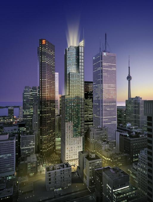 Trump Tower Toronto at 311 Bay Street, Toronto, Ontario. Image 2