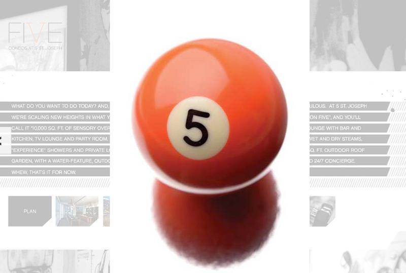 5 Condos at 5 St. Joseph at 5 St Joseph St., Toronto, Ontario. Image 17