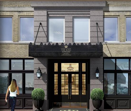 King Edward Private Residences at 37 King Street East, Toronto, Ontario. Image 7