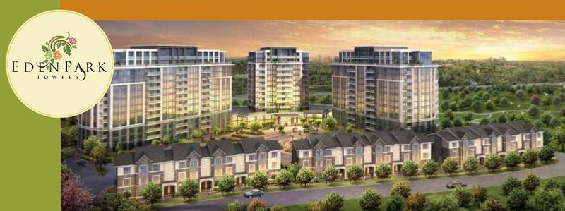 Eden Park - phase I at chalmers rd and Highway 7 East, Richmond Hill, Ontario. Image 1