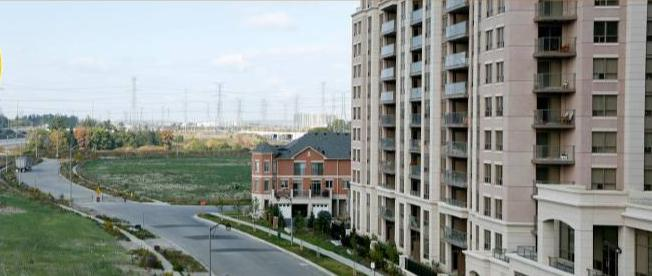 Eden Park - phase I at chalmers rd and Highway 7 East, Richmond Hill, Ontario. Image 2