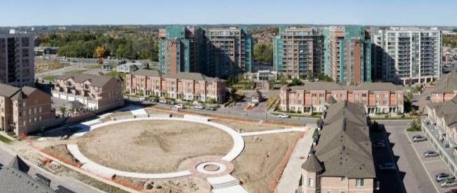 Eden Park - phase I at chalmers rd and Highway 7 East, Richmond Hill, Ontario. Image 5