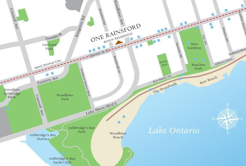 One Rainsford at 1 Rainsford Road, Toronto, Ontario. Image 4