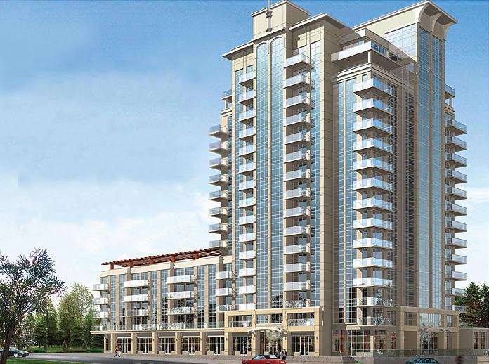 Aquaview Condominiums at 3865 Lake Shore West, Toronto, Ontario. Image 1