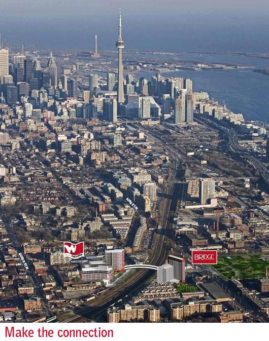 The Bridge at 38 Joe Shuster Way, Toronto, Ontario. Image 4