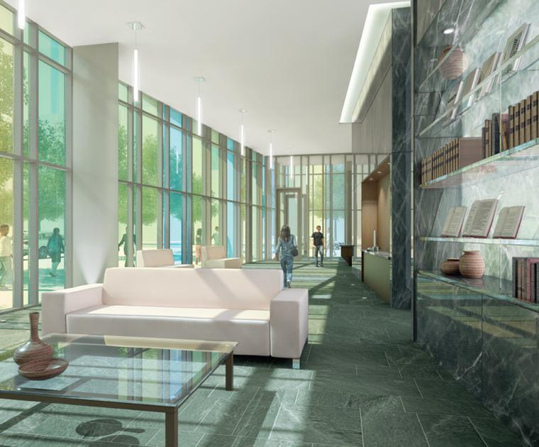 Library District Condominiums at 170 Fort York Blvd, Toronto, Ontario. Image 3