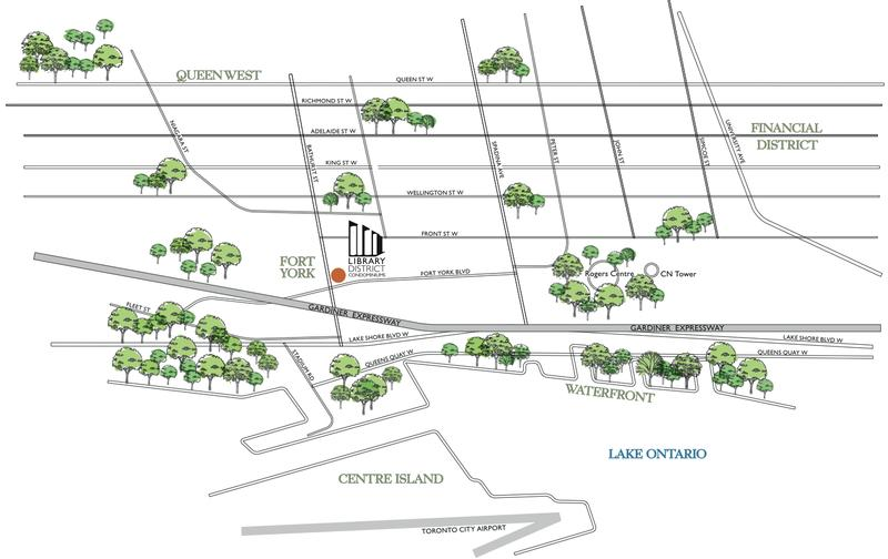 Library District Condominiums at 170 Fort York Blvd, Toronto, Ontario. Image 5