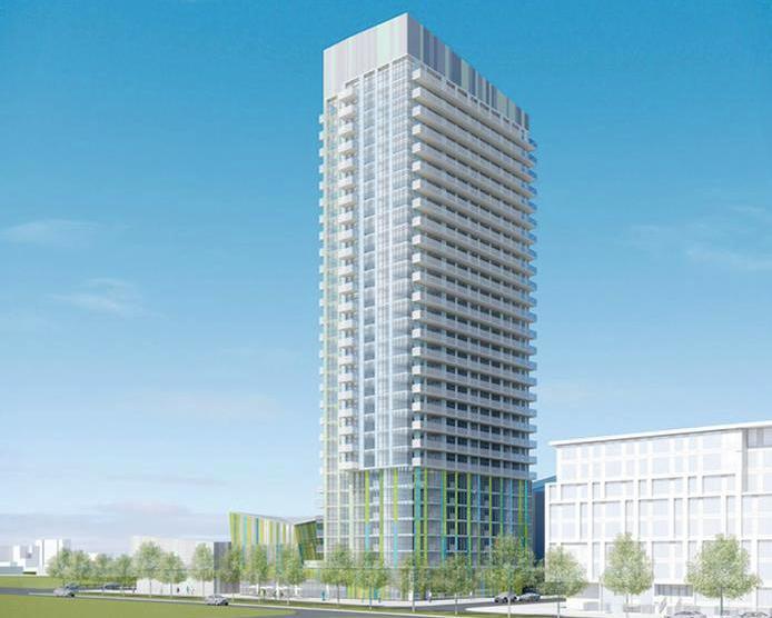 Library District Condominiums at 170 Fort York Blvd, Toronto, Ontario. Image 6