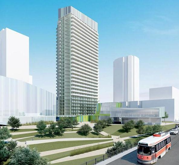 Library District Condominiums at 170 Fort York Blvd, Toronto, Ontario. Image 8