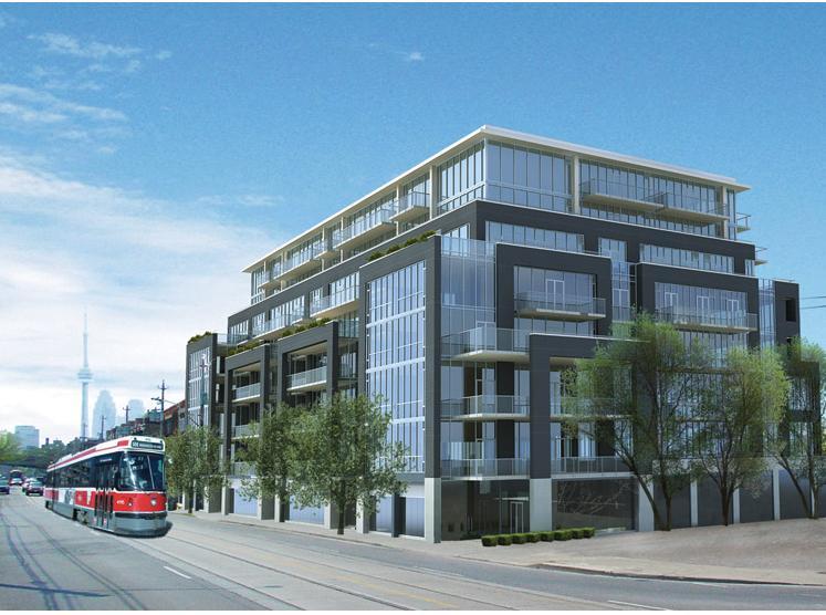 Corktown District - 510 King East at 510 King East, Toronto, Ontario. Image 1