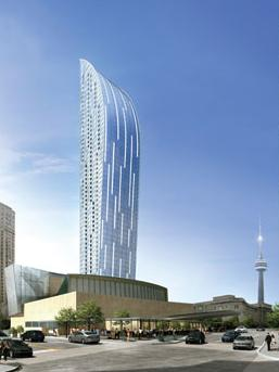 The L Tower at Yonge St & Front St E, Toronto, Ontario. Image 2