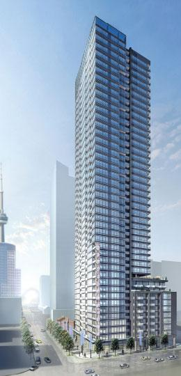 The Pinnacle on Adelaide at 283 Adelaide St, Toronto, Ontario. Image 5