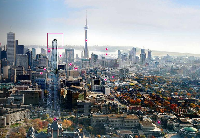Shangri La at 180 University Avenue, Toronto, Ontario. Image 1