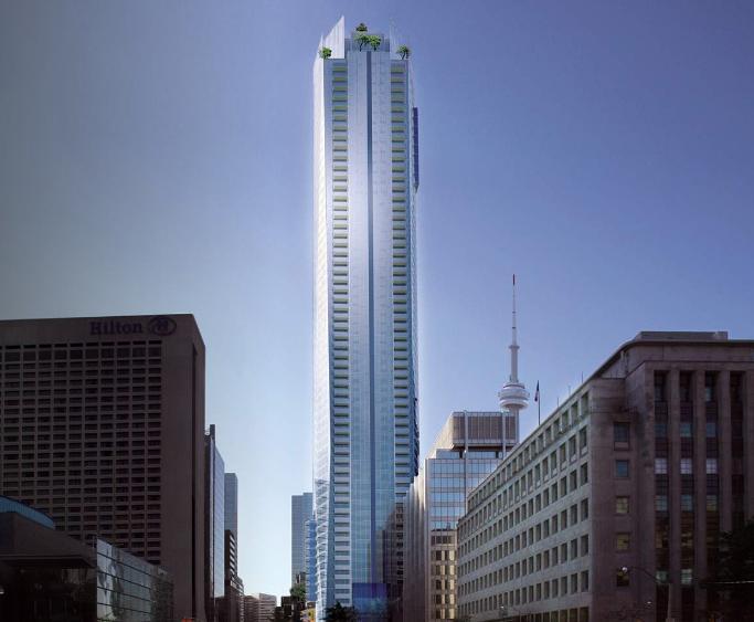 Shangri La at 180 University Avenue, Toronto, Ontario. Image 3